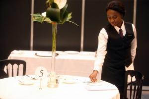 Elizabeth Forkuoh gold medal winner - Restaurant Service