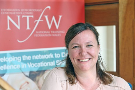 Sarah John, Chair NTfW