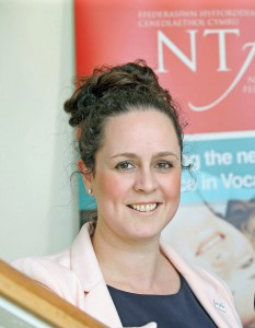 Kelly Edwards, the NTfW's head of work-based learning quality