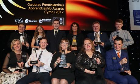 Apprenticeship Awards Cymru winner 2017