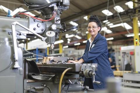 Lizzie Roberts, Toolmaker Apprentice